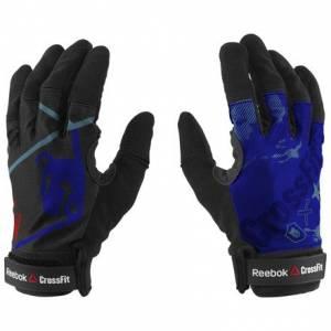 Reebok CrossFit Men's Training Gloves in Acid Blue