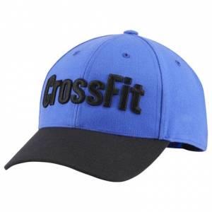 Reebok CrossFit Unisex Training Cap in Acid Blue / Black