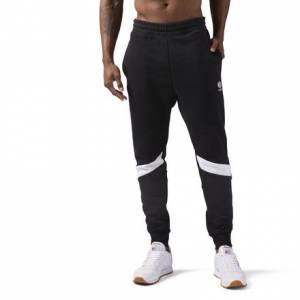Reebok Fleece Sweatpants Jogger Men's Casual Pants in Black