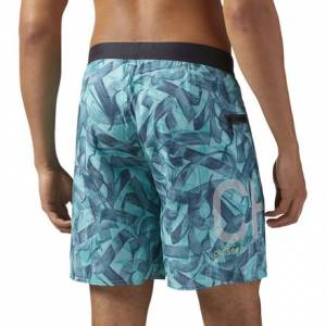 Reebok CrossFit Speed Men's Training Shorts in Turquoise