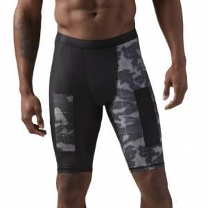 Reebok CrossFit Men's Training Compression Shorts in Black