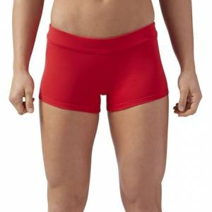 Reebok CrossFit Women's Training Chase Shorty Shorts in Primal Red