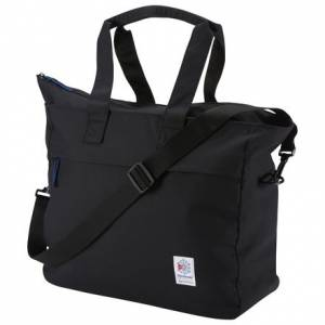 Reebok Classics Foundation Unisex Duffle Bag in Black
