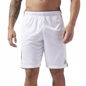 Reebok Knit Performance Men's Training Shorts in White