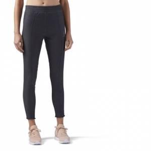 Reebok Women's Casual Stretch Denim Jegging in Dark Grey
