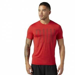 Reebok Running ACTIVCHILL Tee Men's Running T-Shirt in Primal Red
