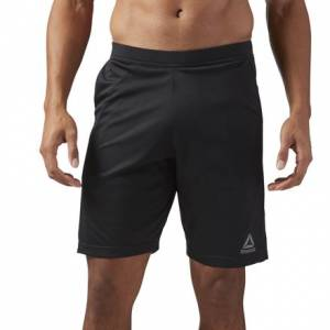 Reebok Speedwick Knit Men's Training Shorts in Black