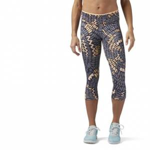 Reebok Core Capri Women's Training Leggings in Desert Glow