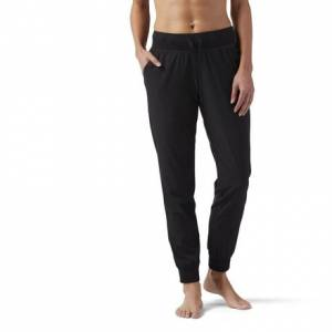 Reebok Training Supply Women's Woven Sweatpants in Black
