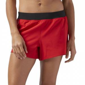 Reebok Woven 4 Inch Women's Training Shorts in Primal Red
