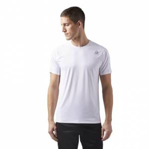 Reebok ACTIVCHILL Move Tee Men's Training T-Shirt in White