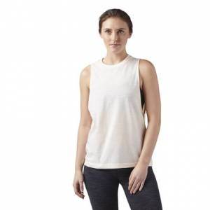 Reebok Training Essentials Women's Muscle Tank Top in Desert Glow