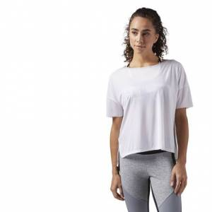 Reebok Relaxed Women's Training T-Shirt in White