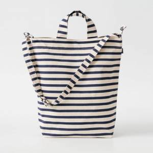 Reebok BAGGU Canvas Women's Tote Bag in White / Blue
