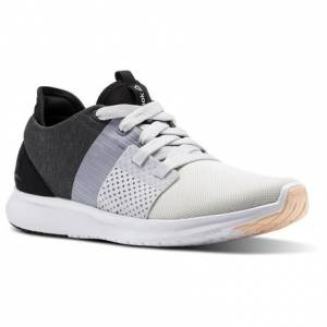 Reebok Trilux Run Women's Running Shoes in Porcelain / White / Cool Shadow / Ash Grey / Black / Desert Dust