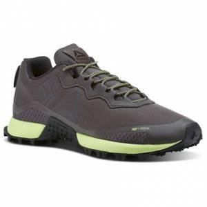 Reebok All Terrain Craze Men's Running Shoes in Urban Grey / Electric Flash / Coal / Black