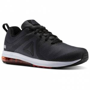 Reebok Jet Dashride 6.0 Men's Running Shoes in Black / Ash Grey / Primal Red / White / Silver Met