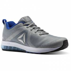 Reebok Jet Dashride 6.0 Men's Running Shoes in Flint Grey / Stark Grey / Coll Royal / White / Black / Silver