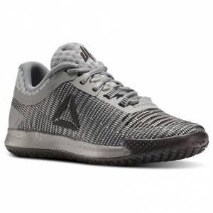Reebok JJ II Low - Grade School Kids Training Shoes in Coal / Alloy / Flint Grey / Metallic