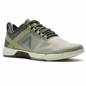 Reebok CrossFit Grace Women's Fitness Training Shoes in Iron Stone / Chalk / Mystic Grey / Silver Met