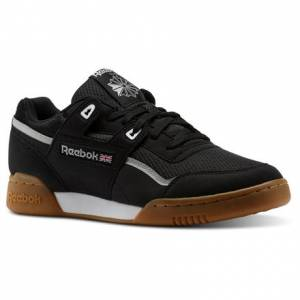 Reebok Workout Plus MVS Unisex Fitness Shoes in Black / Stark Grey / White