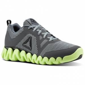 Reebok Zig Evolution 2.0 Men's Running Shoes in Alloy / Flint Grey / Electric Flash / Black