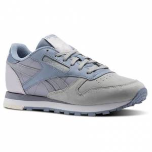 Reebok Shoes Classic Leather PM Women's Running in Stark Grey / Shadow / Rain / Quartz / Pale Pink