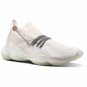 Reebok DMX Fusion CI Unisex Retro Running Shoes in Pale Pink / White / Chalk