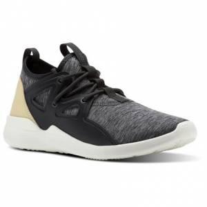Reebok Cardio Motion Women's Studio Shoes in Coal / Ash Grey / Straw / Chalk