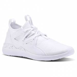 Reebok Cardio Motion Women's Studio Shoes in White / Black / Matte Silver