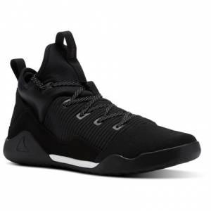 Reebok Combat Noble Trainer Men's Combat Shoes in Black / White