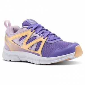 Reebok Run Supreme 2.0 - Pre-School Kids Running Shoes in Lush Orchid / Moonglow / Desert Glow / White