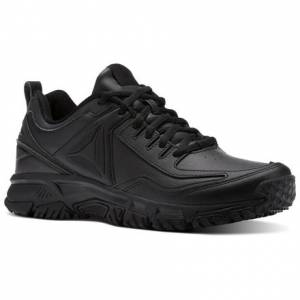 Reebok Ridgerider Leather Men's Walking Shoes in Black