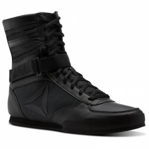 Reebok Men's Combat, Lightweight Boxing Boots in Black