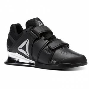 Reebok Legacy Lifter Women's Training Shoes in Black / White / Silver