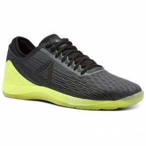 Reebok CrossFit Nano 8 Flexweave Men's Training Shoes in Alloy / Black / Solar Yellow