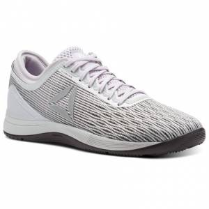 Reebok CrossFit Nano 8 Flexweave™ Women's Training Shoes in White / Stark Grey / Quartz Purple