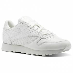 Reebok Classic Leather IL Women's Retro Running Shoes in White