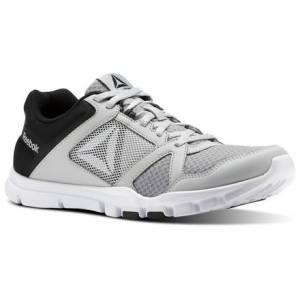 Reebok Yourflex Train 10 MT Men's Training Shoes in Skull Grey / Black / White