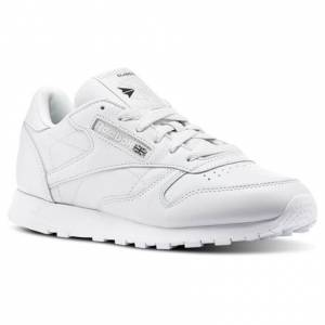 Reebok X Face Stockholm Classic Leather Women's Retro Running Shoes in White
