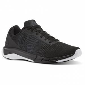 Reebok Fast Flexweave™ Men's Running Shoes in Black / Ash Grey / White