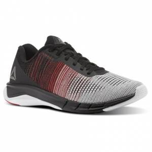 Reebok Fast Flexweave™ Men's Running Shoes in White / Primal Red / Black