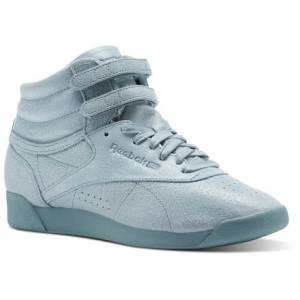 Reebok Freestyle Hi FBT Women's Fitness Shoes in Whisper Teal