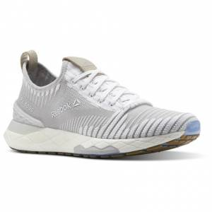 Reebok FLOATRIDE 6000 Women's Running Shoes in White / Skull Grey / Stucco