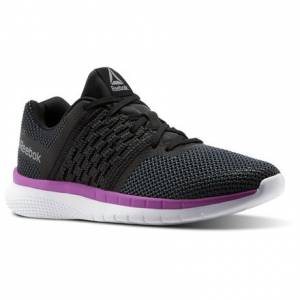 Reebok PT Prime Runner Women's Running Shoes in Black / Gravel
