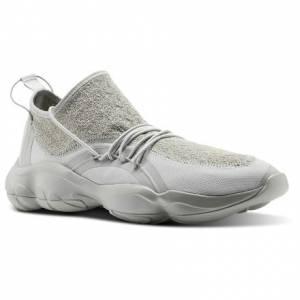 Reebok DMX Fusion TS Unisex Retro Running Shoes in Skull Grey / White / Shark Grey