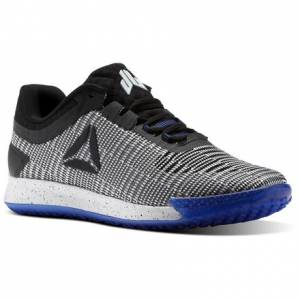 Reebok JJ II Men's Training Shoes in White / Black / Acid Blue
