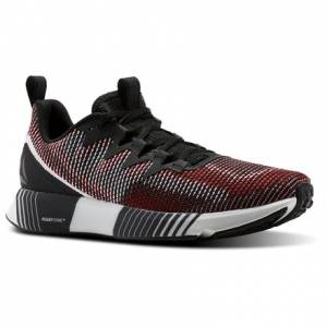 Reebok Fusion Flexweave™ Men's Running Shoes in Black / Primal Red / White