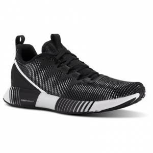 Reebok Fusion Flexweave™ Men's Running Shoes in Black / White / Ash Grey