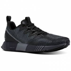 Reebok Fusion Flexweave™ Men's Running Shoes in Black / Alloy / Flint Grey